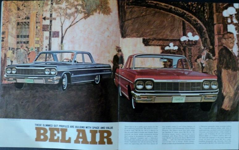 1964 Chevrolet Sale Brochure Impala Belair Biscayne