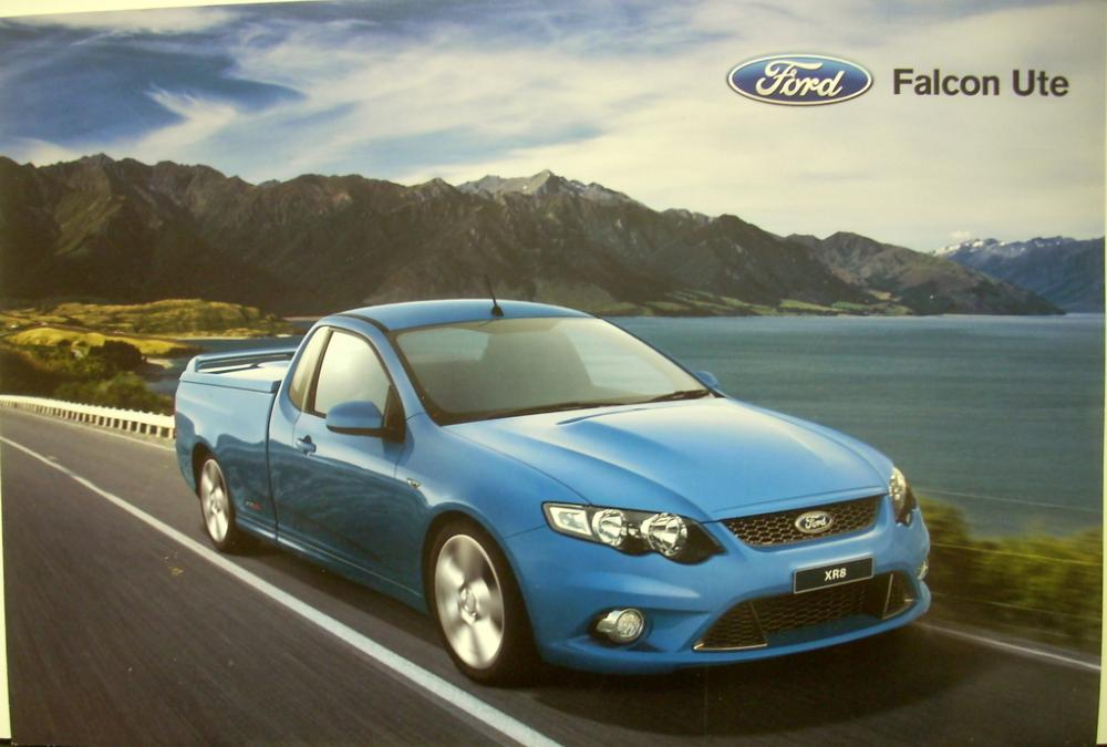 2008 Ford Falcon Ute Australian Market Right Hand Drive Sales Brochure