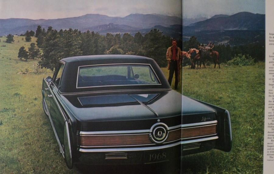 Town And Country Auto Sales >> NOS 1968 Chrysler Imperial XL Sales Brochure LeBaron Crown HT Coupe Convertible