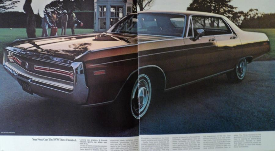 Nos 1970 Chrysler New Yorker Town Amp Country 300 Newport