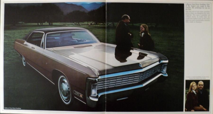 Town And Country Auto >> NOS 1970 Chrysler Imperial LeBaron Crown XL Color Sales Brochure
