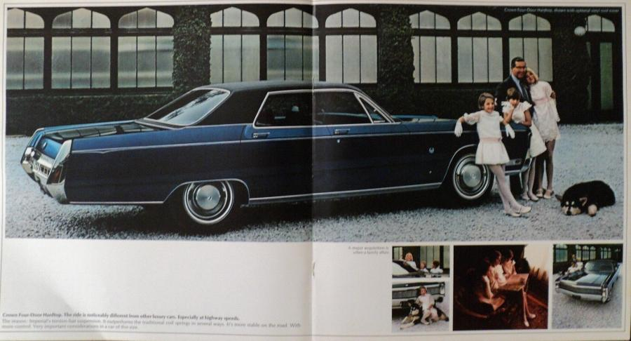 Town And Country Auto Sales >> NOS 1970 Chrysler Imperial LeBaron Crown XL Color Sales Brochure