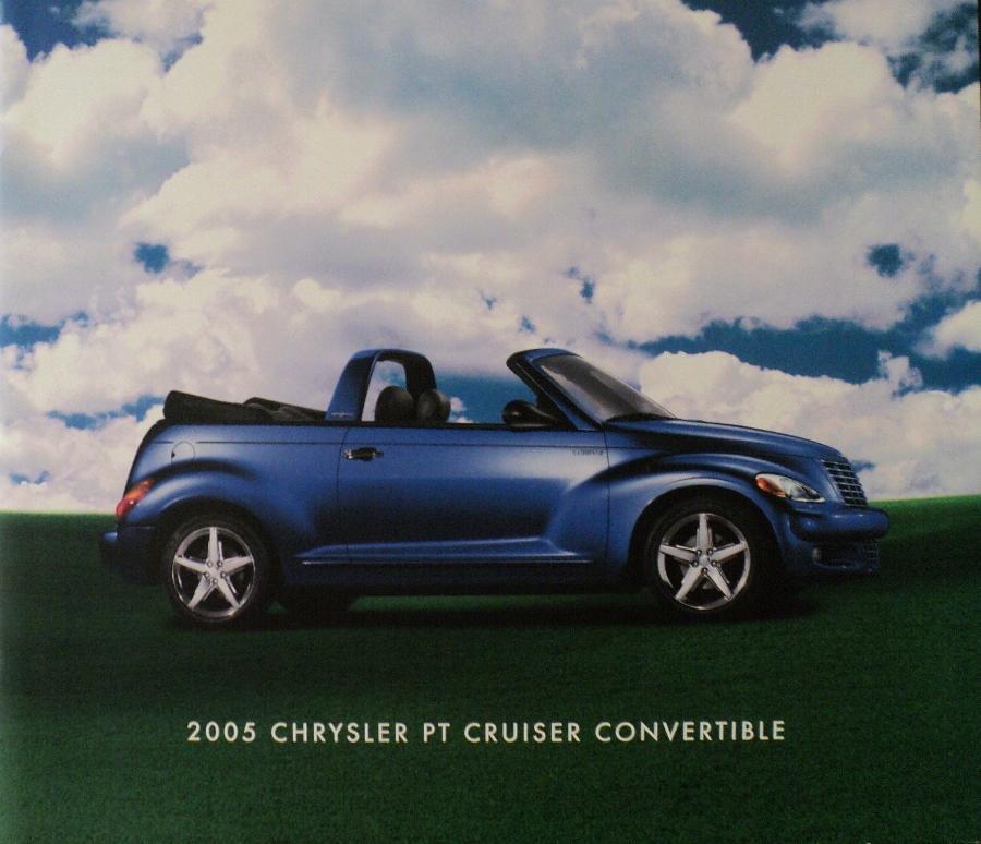 2005 Chrysler PT Cruiser Convertible Dealer Sales Brochure