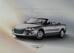 2005 Chrysler Sebring Convertible Color Sales Brochure