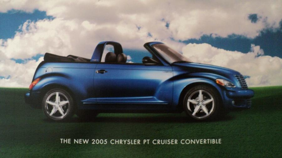 2005 chrysler pt cruiser convertible color sales brochure. Black Bedroom Furniture Sets. Home Design Ideas