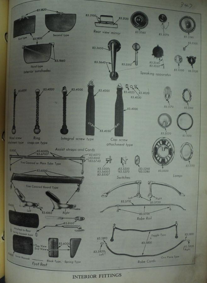 1927 cadillac parts