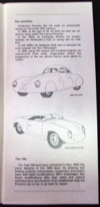 1984 Porsche Dealer Sales Brochure Family Tree 1948 To
