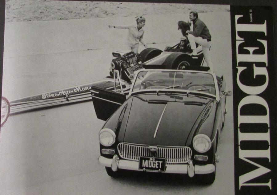 Agree mg midget brochure