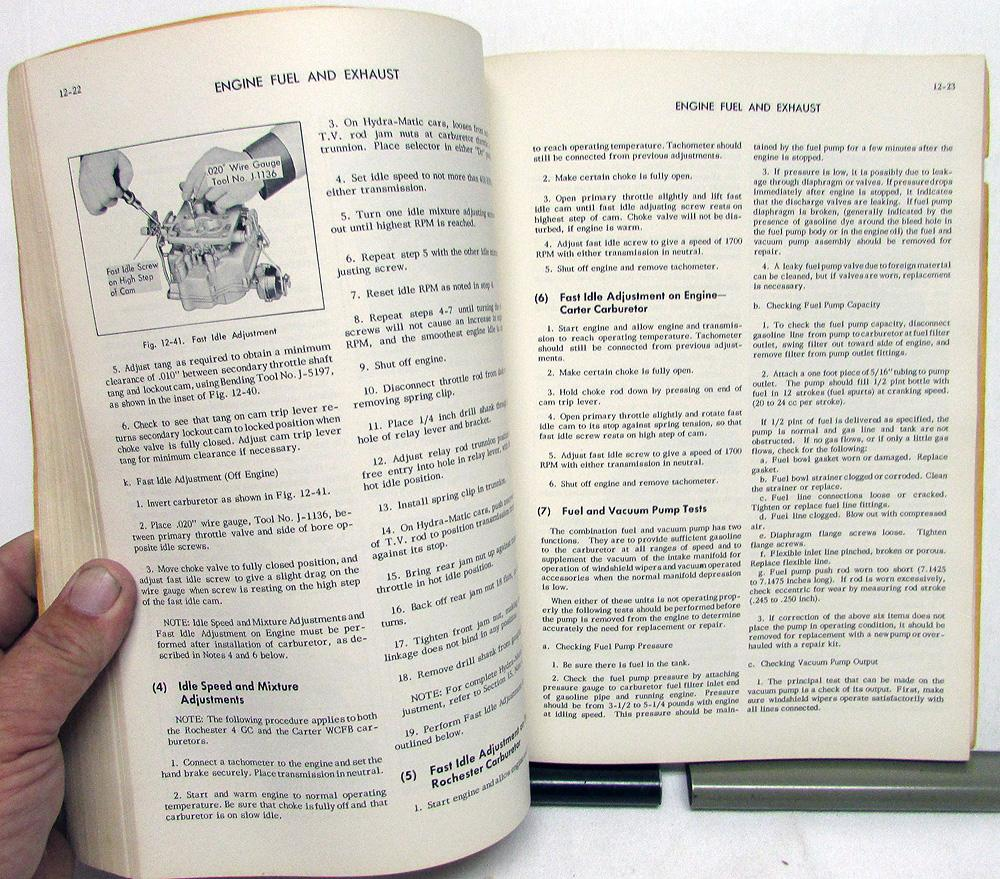 1952 Cadillac Service Shop Manual 52-62 60S 75 & 86 Commercial Cars