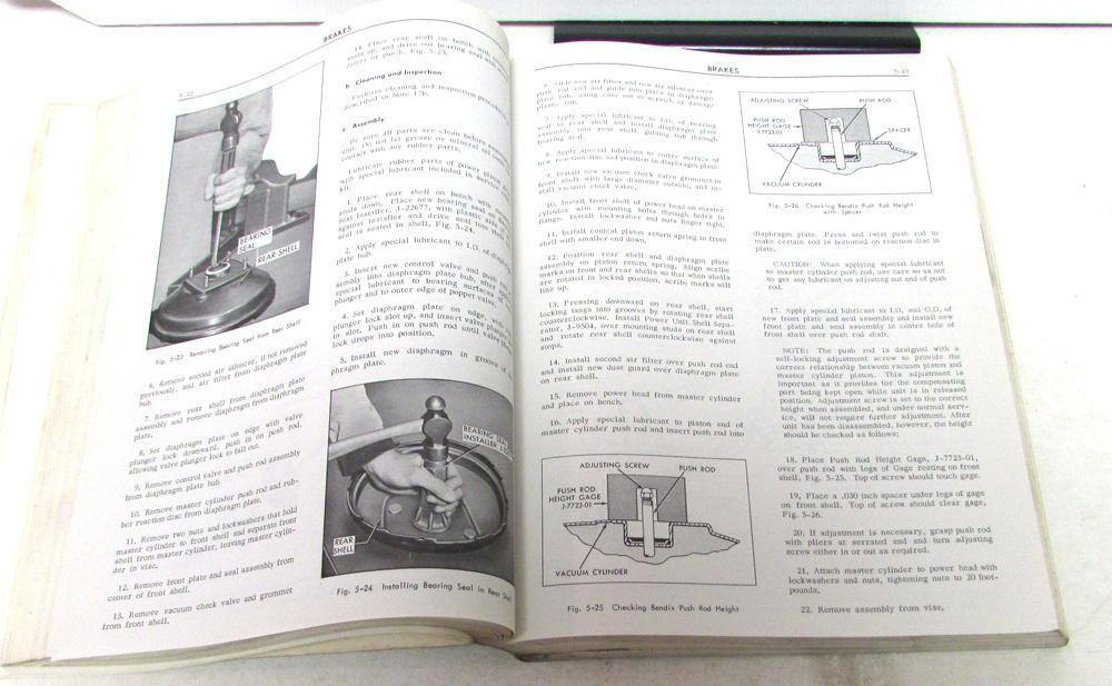 1967 Cadillac Shop Service Manual Fleetwood Calais DeVille