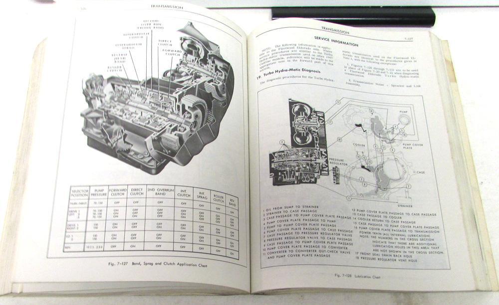 1967 Cadillac Shop Service Manual Fleetwood Calais DeVille