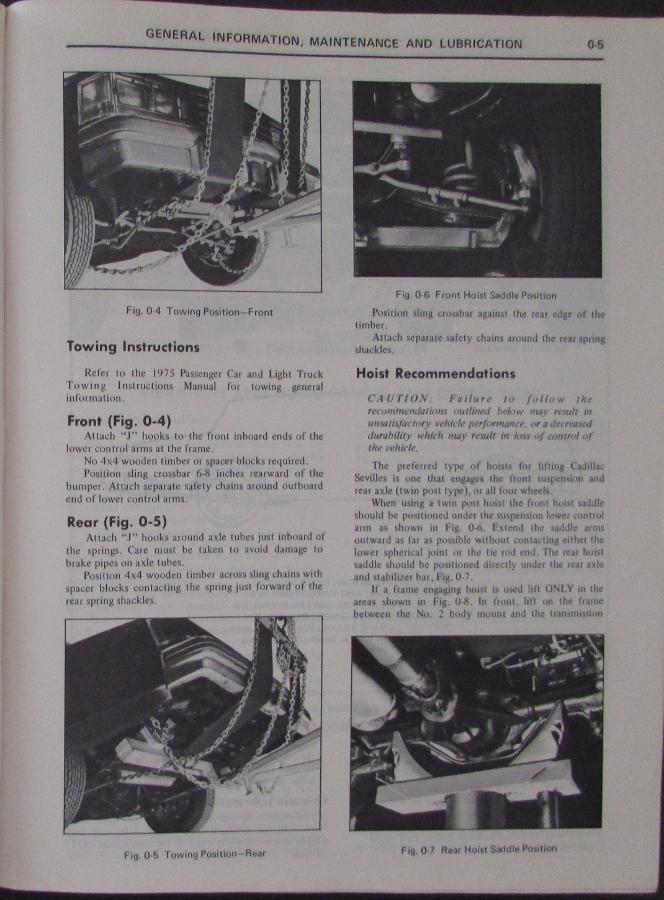 1976 cadillac seville shop service manual rh autopaper com 1976 cadillac eldorado service manual 1990 Cadillac