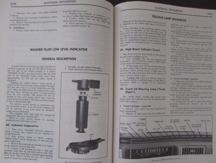 1976 cadillac seville shop service manual rh autopaper com Cadillac Deville 2000 2003 Cadillac DeVille