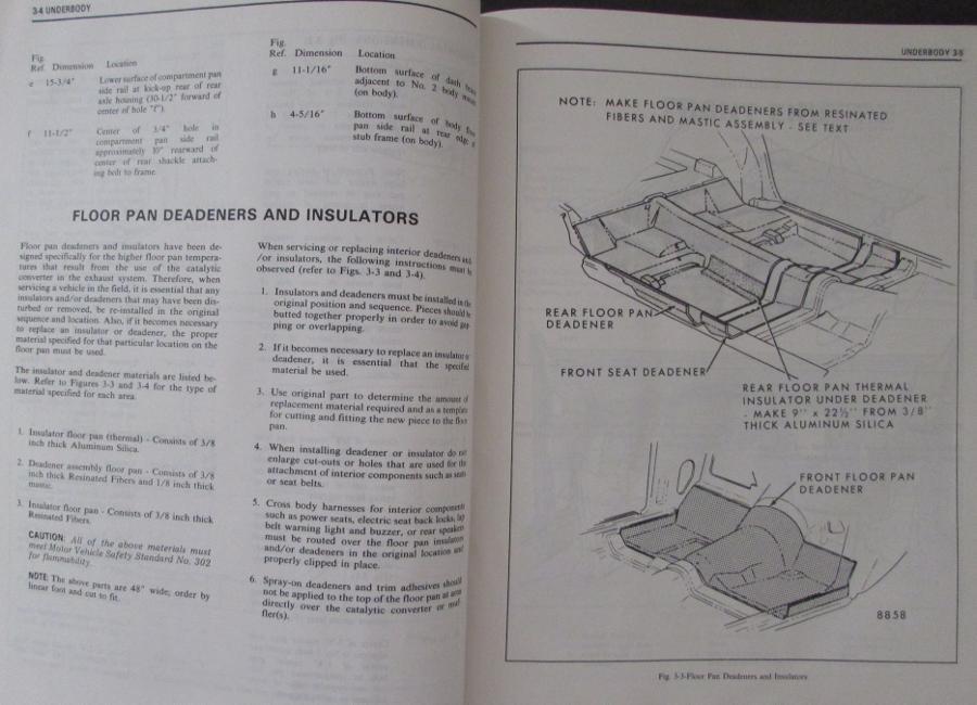 1976 cadillac seville fisher body shop service manual rh autopaper com 1977 Cadillac 1979 Cadillac