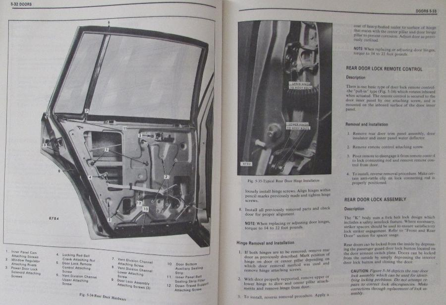 cadillac deville 1995 manual