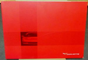 Original 2005 Chevrolet Corvette Dealer Prestige Brochure German Text Foreign