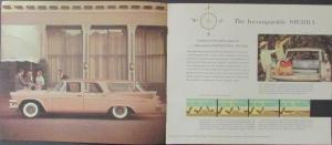 1958 Dodge Swept Wing Station Wagons Sales Brochure Sierra Suburban