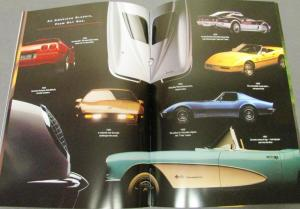 1994 Chevrolet Corvette Dealer Prestige Brochure Coupe Convertible ZR1 LT1 LT5