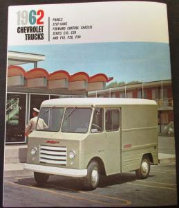 1962 Chevrolet Truck Panel Step Van Fwd Control Series C & P Sales Brochure Orig