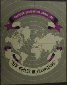 1952 Chrysler New Worlds in Engineering Sales Brochure Dodge Plymouth Desoto