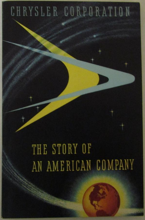 1955  Chrysler Corp The Story of an American Co handbook original