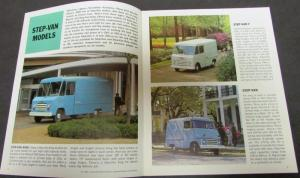 1966 Chevrolet Step Van & Forward Control Chassis Truck Sales Brochure Original
