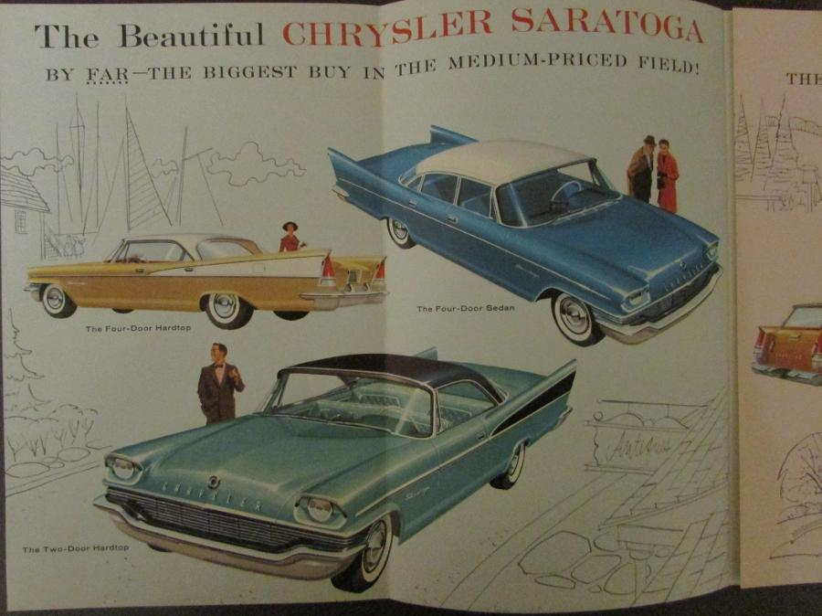 1957 Mighty Chrysler Windsor Saratoga New Yorker Color