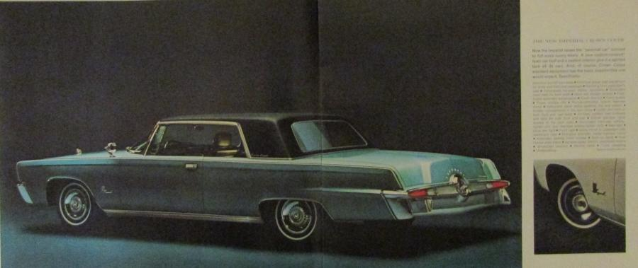 1964 Chrysler Imperial Crown Convertible Lebaron Color ...