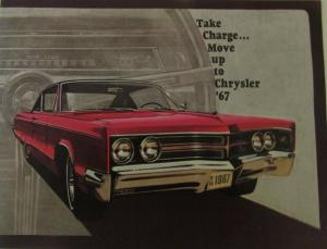 1967 Chrysler Imperial LeBaron Crown XL Prestige Sales Brochure