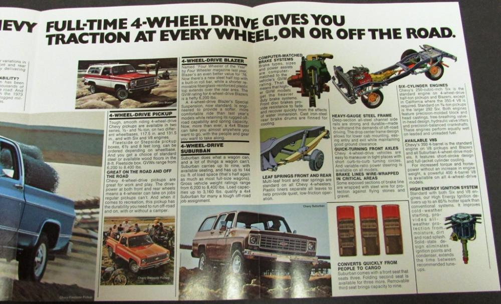 chevy pickup catalogue 1947 to 1972 gallery