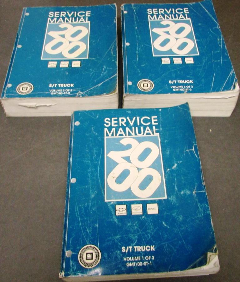 2000 chevrolet gmc olds service manual s t s10 blazer sonoma jimmy rh autopaper com 2000 GMC Jimmy SLE 2000 GMC Jimmy Diamond Edition