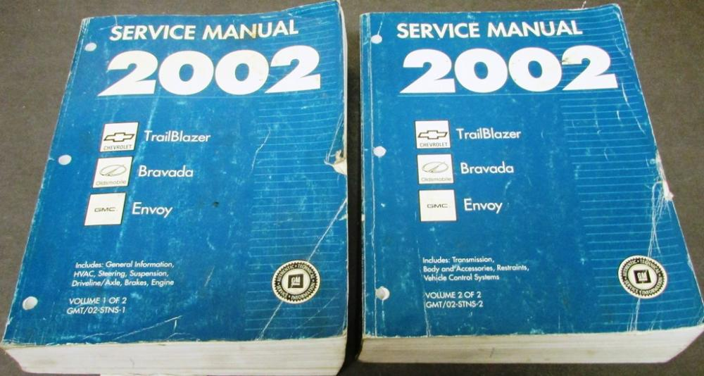 owners manual for a 02 envoy