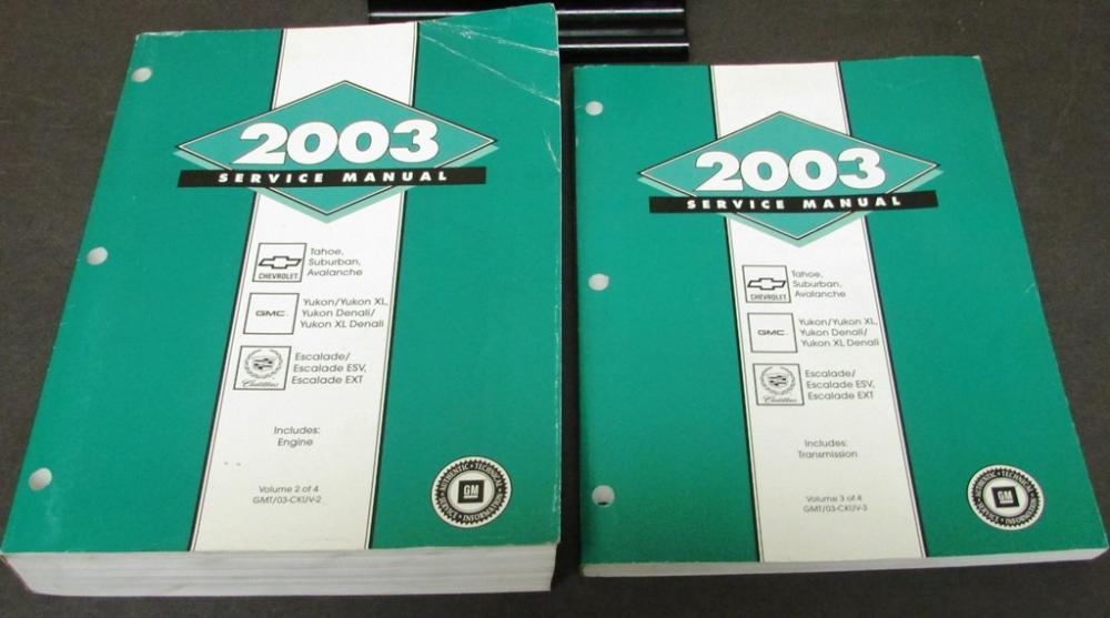 2003 tahoe manual