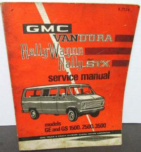 gmc vandura service shop owner s manuals troxel s auto literature rh autopaper com 1989 gmc vandura owners manual gmc vandura user manual