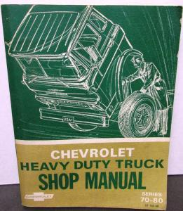 Original 1969 Chevrolet Dealer Truck Service Shop Manual Heavy Duty 70-80