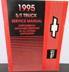 95 Chevy Blazer Service Manual