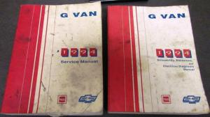 GMC Vandura Service Shop amp Owner s Manuals Troxel s