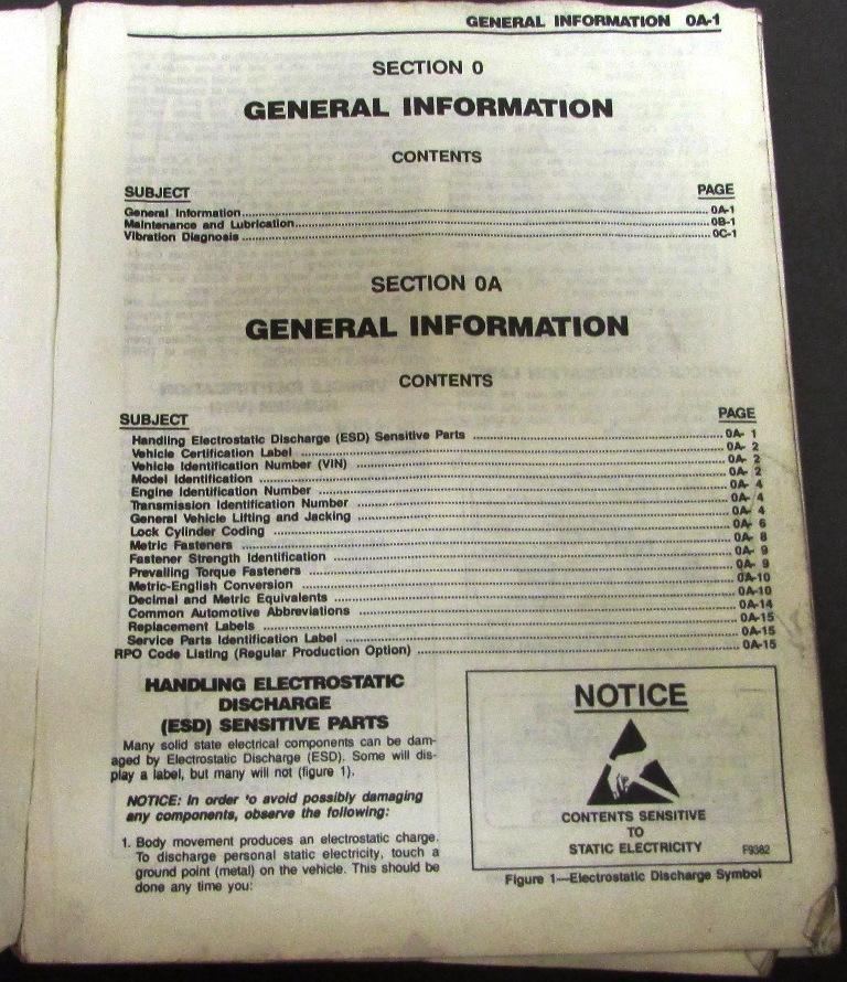 1992 s10 service manual