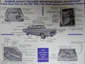 1961 amc x ray economy compact cars vs rambler american. Black Bedroom Furniture Sets. Home Design Ideas