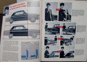 1963 AMC X-Ray Popular Priced Cars Vs Rambler Classic Ambassador Sales Brochure