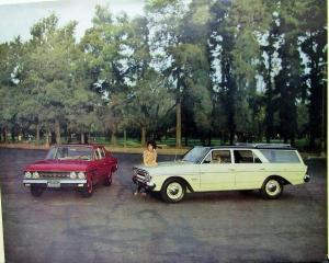 1963 AMC Rambler Deluxe Classic Cross Country Sales Sheet Spanish Text