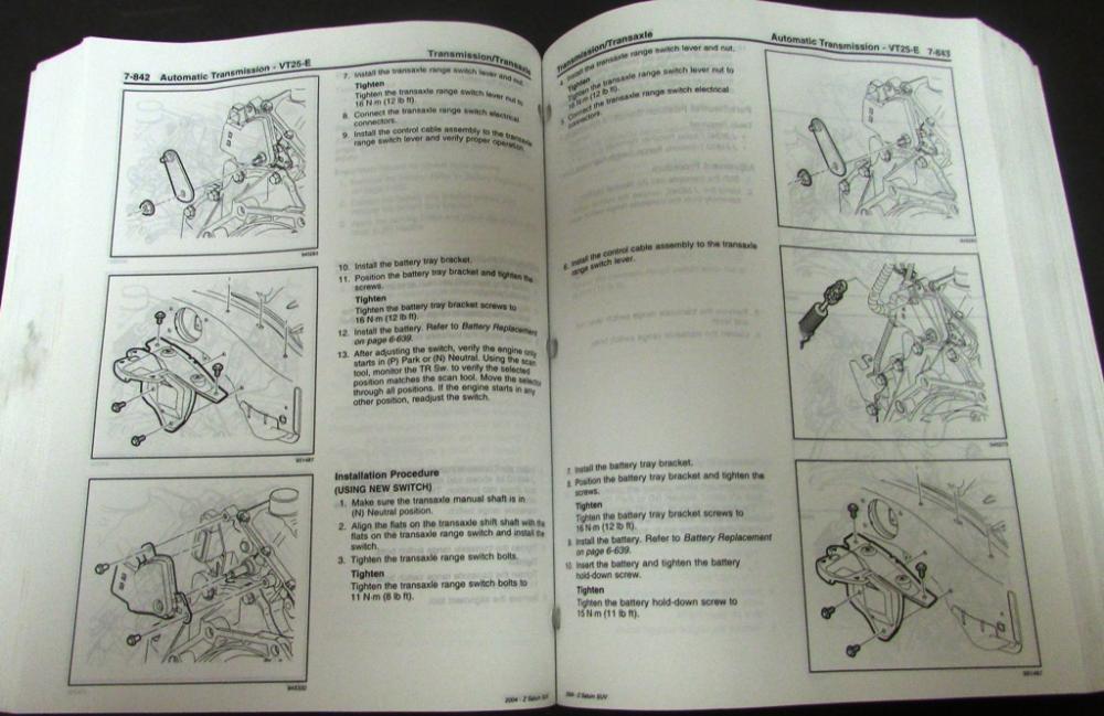 2004 saturn vue dealer service shop repair manual set original rh autopaper com 2004 saturn vue repair manual free 2004 saturn vue repair manual pdf free