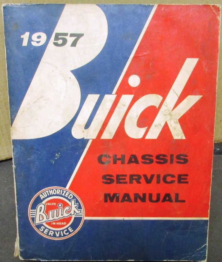 Original 1957 Buick Chassis Service Shop Manual Special Century Super Roadmaster