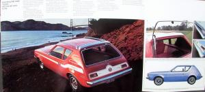 1973 American Motors Gremlin Military Sales Brochure Folder