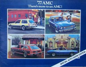 1977 AMC Special Auto Show Edition Color Sales Brochure Original