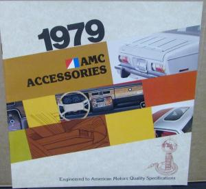 1979 AMC Accessories Original Color Sales Brochure For Customers