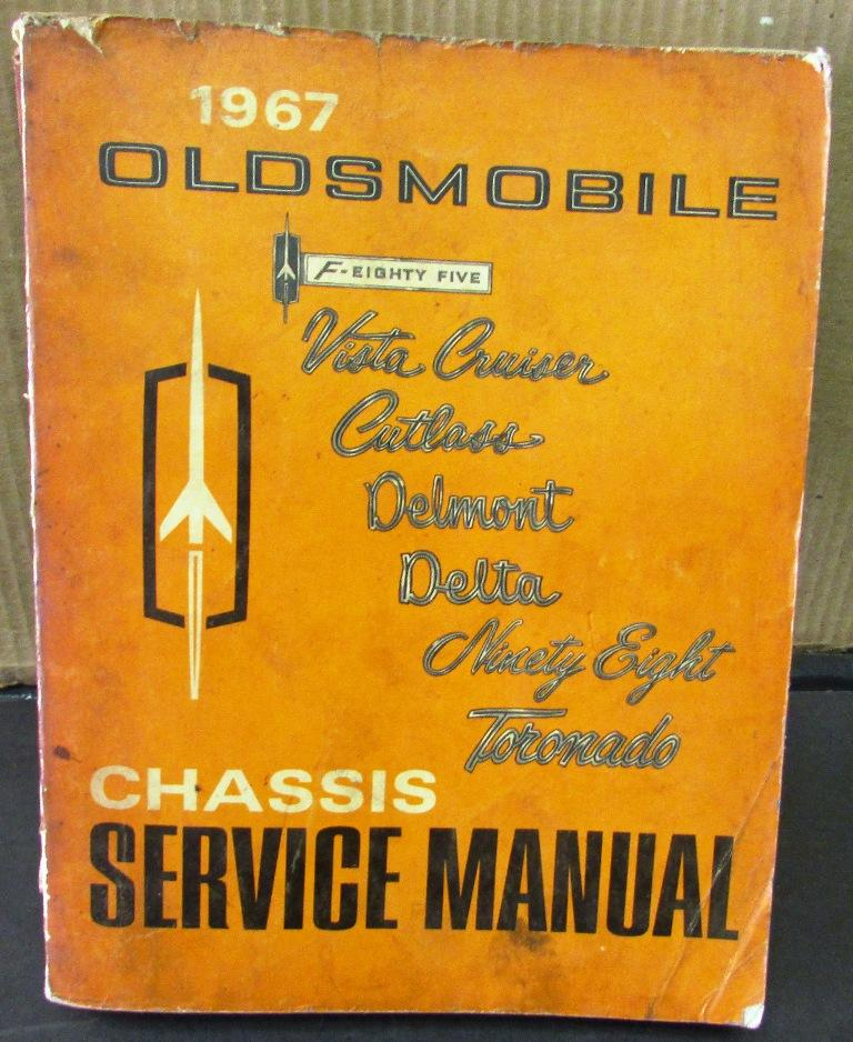 original 1967 oldsmobile service shop manual f 85 cutlass 442 rh autopaper com 1953 oldsmobile shop manual 1940 oldsmobile shop manual