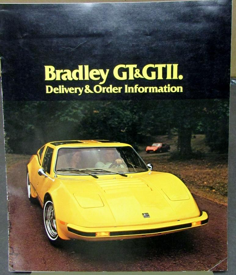 1900 Replica Kit Makes Bentley: 1977 Bradley GT & GTII Kit Car Delivery & Order
