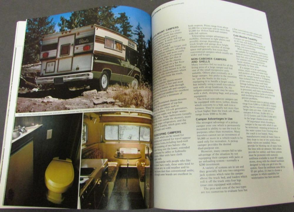 1973 Chevrolet RV Buyers Guide Cars Trucks Campers Pickup