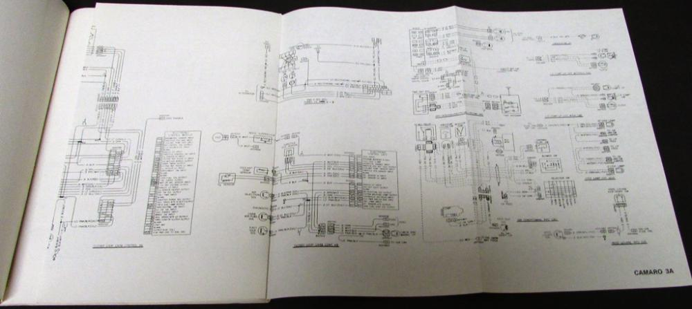 1980 Chevrolet Wiring Diagrams Service Manual Camaro Monte